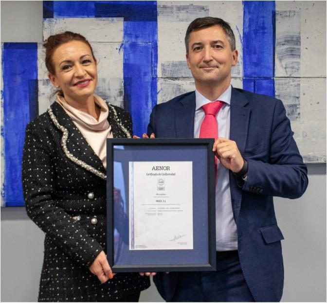 FRIEX S.L., primera empresa que obtiene la certificación de ASOFRIO-AENOR para instaladoras de refrigeración y climatización.